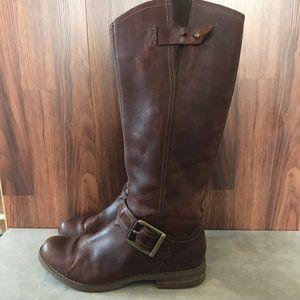 Timberland Savin Hill Knee High Flat Riding Boots